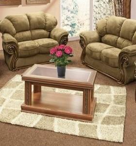 2 Bedroom Suites In Orlando On Popscreen Lillian Rus Walnut & Joshua Doore Furniture Lounge Suites - Best Furniture 2017