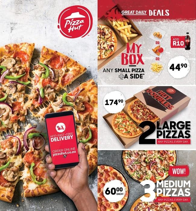 Pizza Hut Menu Pdf