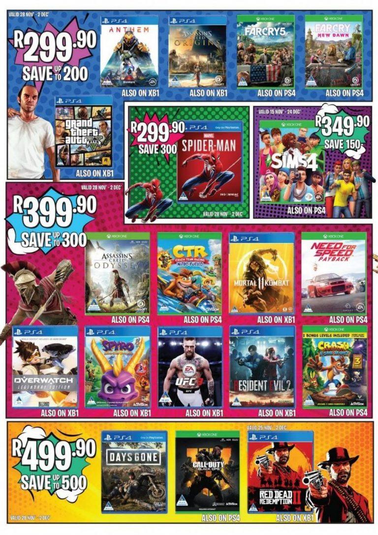 BT Games Black Friday Sale 2021