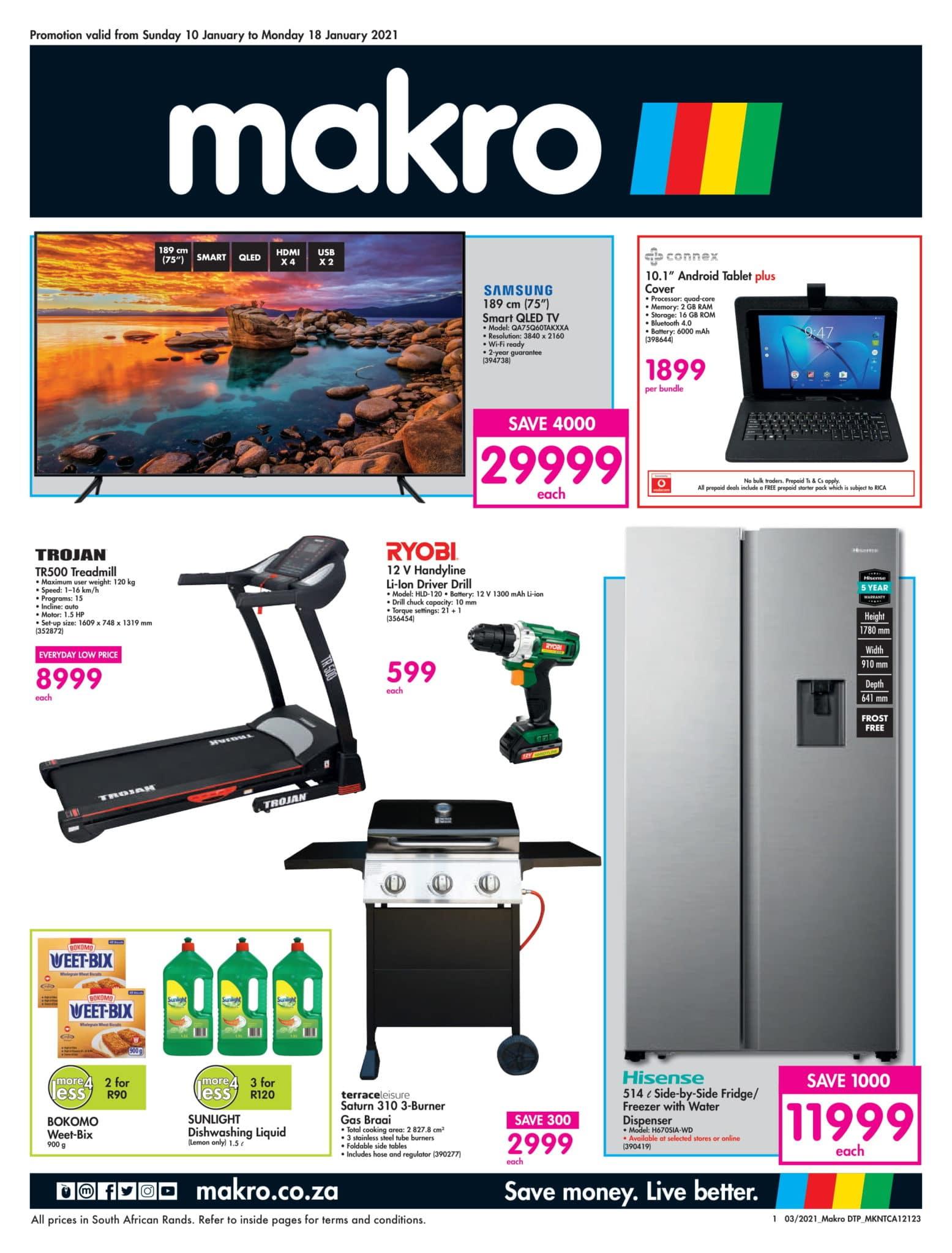 Makro Catalogue 10 January - 18 January, 2021